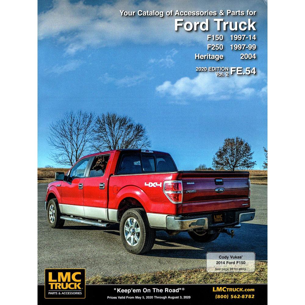 Free Catalogs For Chevy Gmc Ford And Dodge Trucks Lmc Truck >> Catalog 2018 Lmc Parts 46 97 14 Ford F150 F250