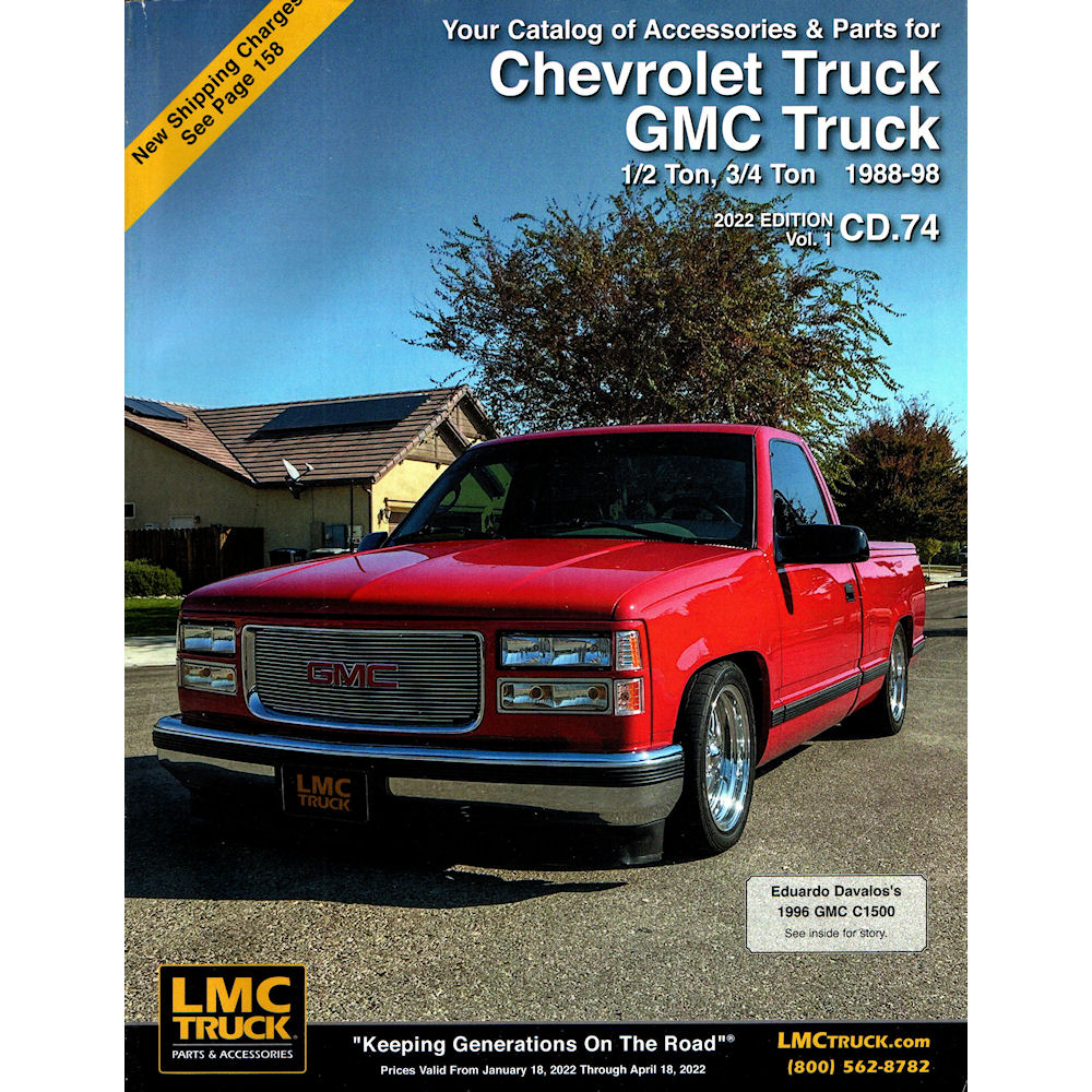 Parts Accessories For Chevrolet Trucks Suvs Lmc Truck >> Catalog 2018 Lmc Parts 59 88 98 Chevy C K Truck