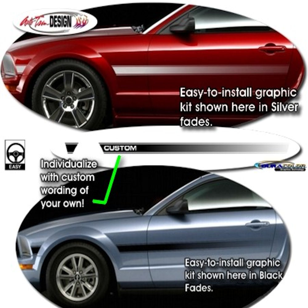 Decals - Side Graphic Kit (GT/CS) 05-09 Ford Mustang GT