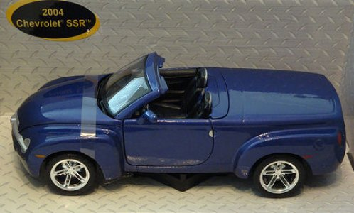 Die Cast Model From Maisto Licensed From Gm 2004 Chevy Ssr Concept
