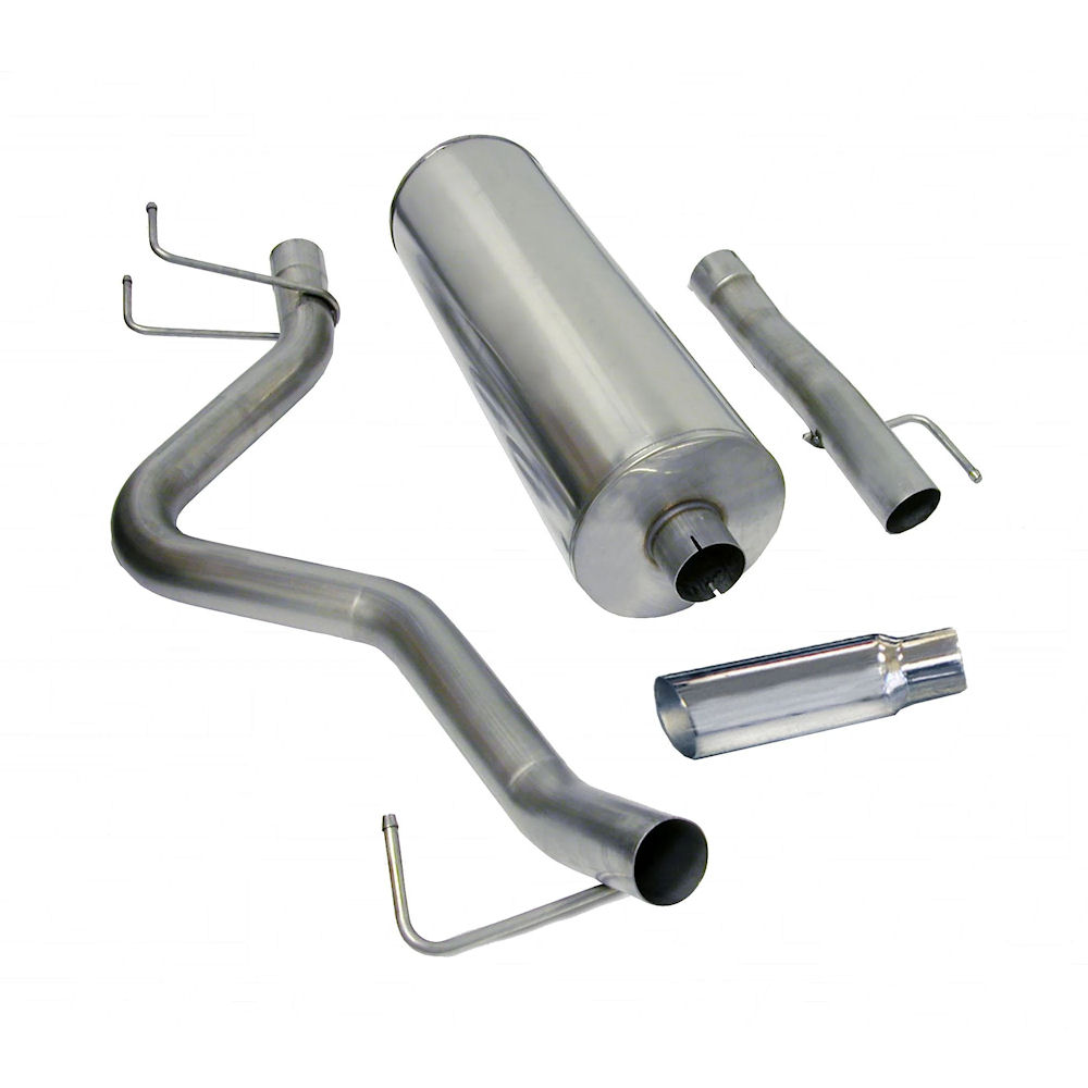 Ram 1500 Exhaust >> Exhaust System Sport Polished 06 07 Dodge Ram 1500 Db