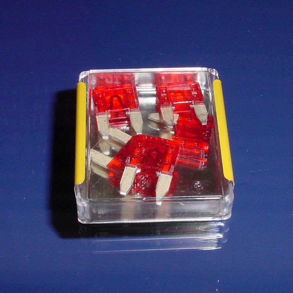 Atc 12v 10a Mini Blade Fuse Pack  5 Pcs