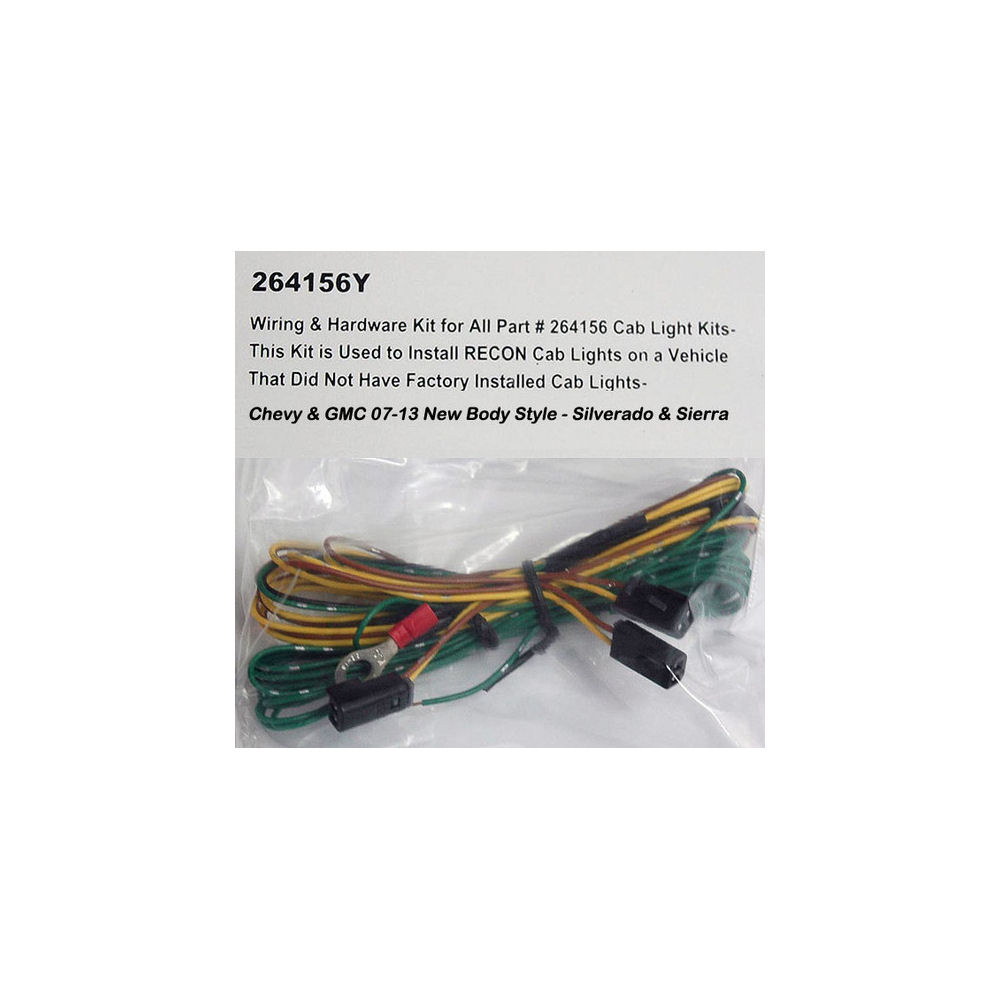 [ANLQ_8698]  Recon Cab Roof Lights Wiring Harness for 2007-2013 Chevrolet Silverado | 2007 Chevy Silverado Wiring Harness |  | MaxxTech